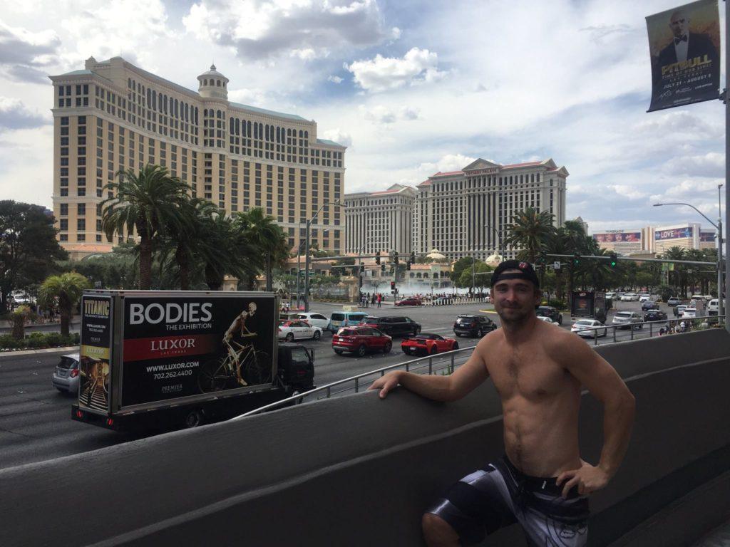 Roku 2017 jsem s kolegy z mé společnosti vyrazil do Las Vegas.