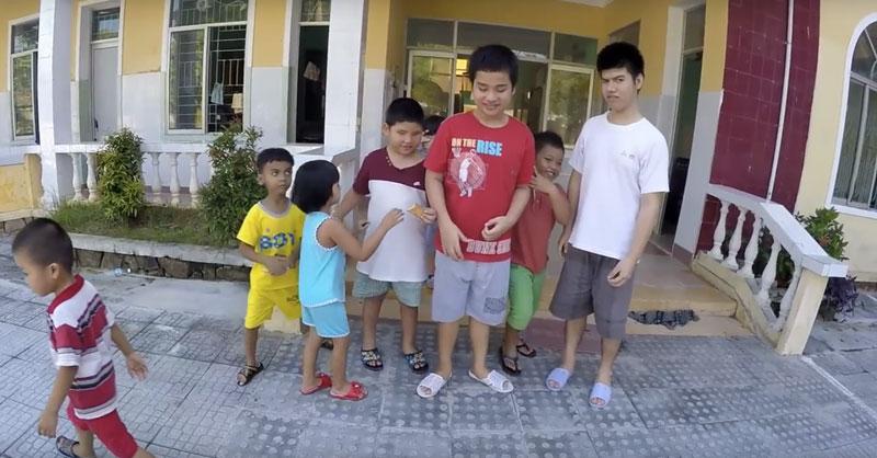Blind massage in Hue City