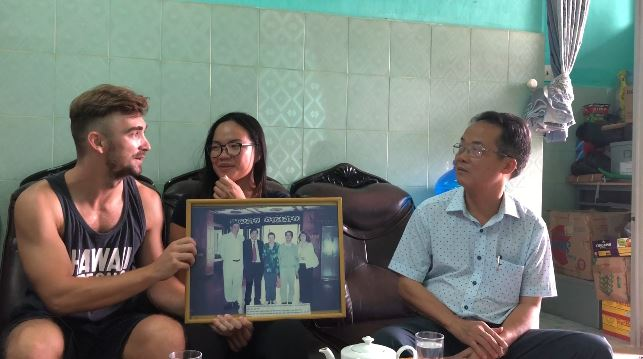 We are talking with Le Van Loc about Blind association in Hue province