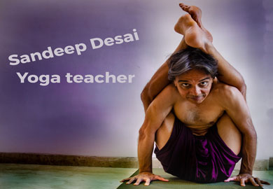 Sandeep Desai Yoga Teacher and Tai Chi teacher